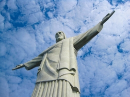 The Saviour surveys all from the top of Corcovado, Rio de Janeiro